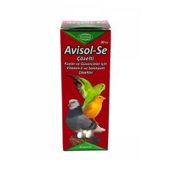 Biyoteknik - Avisol-Se Kuş Vitamin ve Mineral Takviyesi 30cc