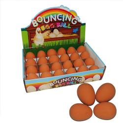 Fatih-Pet - 86905 Kedi&Köpek Oyuncağı Zıplayan Yumurta Top 24 lü