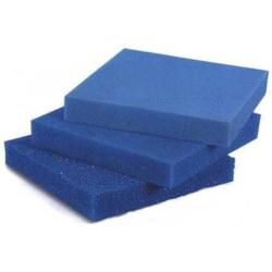 White Balance - Akvaryum Filtre Süngeri Kalın Gözenekli Mavi 10 PPI 50x50x5 cm.
