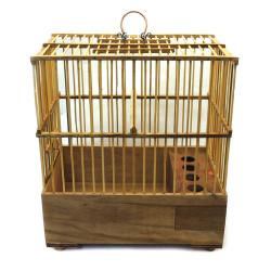 Fatih-Pet - Bambu Saka Kafes 17x28x32 cm