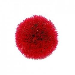 Fatih-Pet - Büyük Top Bitki Kırmızı 14 cm