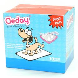 Cleday - Cleday Puppy Pads - Köpek Çiş Pedi 60x90 cm 10 lu