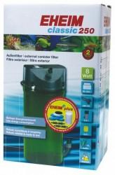 Eheim - Eheim CLassic 250 2213-05 Dış Filtre 8 W-250 L-440 L/s Musluklu&MedSet