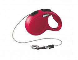 Flexi - Flexi New Classic 3 m İp Tasma XS Kırmızı