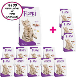 Dfc - Floki Tavuklu Kedi Maması 15 Kg 10+3 KAMPANYA