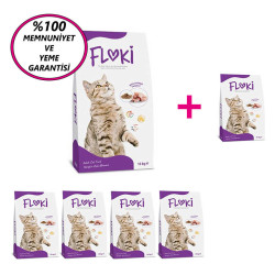 Dfc - Floki Tavuklu Kedi Maması 15 Kg 5+1 KAMPANYA