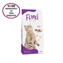 Fatih-Pet - Floki Yetişkin Tavuklu Kedi Maması 15 Kg