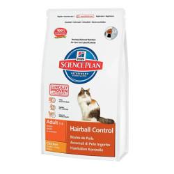 Hills - Hills Adult 1-6 Hairball Control Chicken Tavuklu Yetişkin Kedi Maması 1,5 Kg
