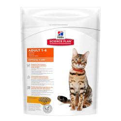 Hills - Hills Adult 1-6 Optimal Care Chicken - Tavuklu Yetişkin Kedi Maması 400g