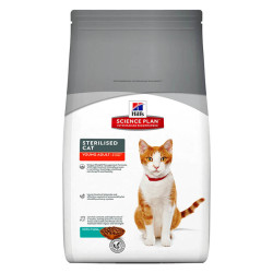 Hills - Hills Sterilised Cat Adult Ton Balıklı Yetişkin Kedi Maması 3,5 Kg