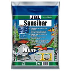 JBL - JBL Sansibar White 0,1-0,4 mm Akvaryum Kumu Beyaz 5 Kg