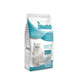 Jingo - Jingo Marsilya Sabun Kokulu Bentonit Kedi Kumu İnce Taneli 5 L