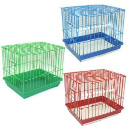 Fatih-Pet - Lüks Taşıma Kafesi 6 lı 18x20x19 cm
