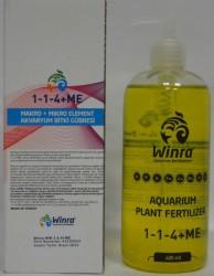 Winra - MAKRO+MİKRO ELEMENT Akvaryum Bitki Gübresi 400 ml.