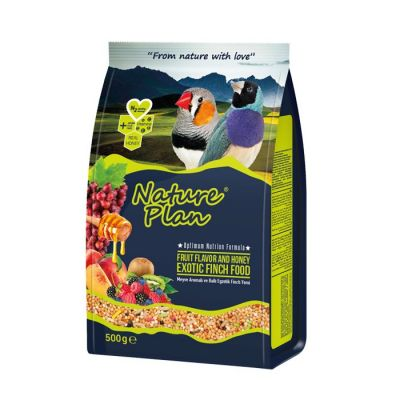Nature Plan Ballı Meyveli Exotic Finch Yemi 500 gr