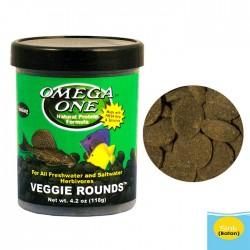Omega One - Omega One Veggie Rounds 118g