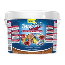 Tetra - Tetra Pro Colour Renklendirici Tropikal Balık Yemi 10 L